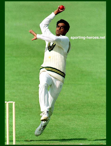 Naved Anjum - Pakistan - Test Record
