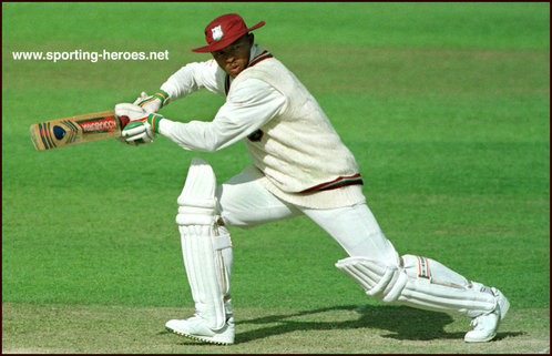 Keith Arthurton - West Indies - Test Record