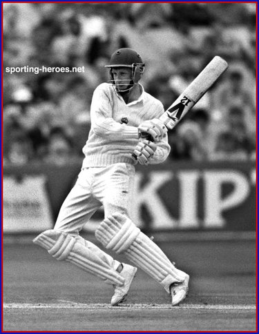 Bill Athey - England - Test Record