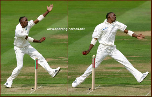 Dwayne Bravo - West Indies - Test Record