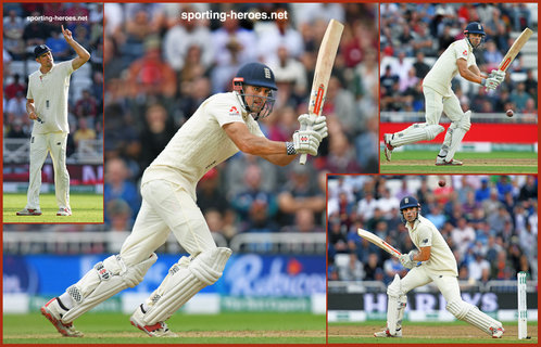 Alastair Cook - England - Test Record v India