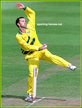 Adam DALE - Australia - Test Record