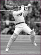 Gordon GREENIDGE - West Indies - Biography of International cricket career.