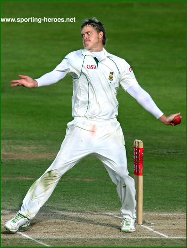 Paul Harris - South Africa - Test Record