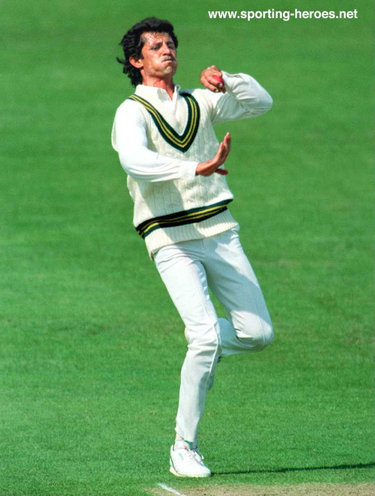 Saleem Jaffer - Pakistan - Test Record