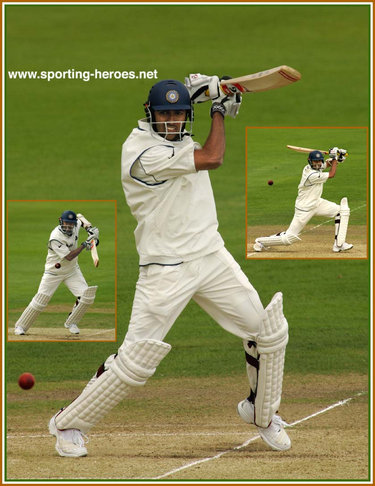 Wasim Jaffer - India - Test Record