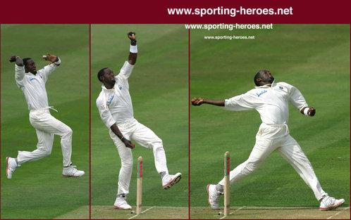 Jermaine Lawson - West Indies - Test Record