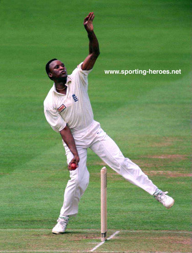 Devon Malcolm - England - Test Profile 1989-97