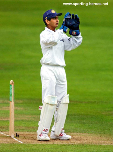 Parthiv Patel - India - Test Record