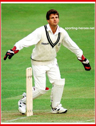 Steve Rhodes - England - Test Cricket Record for England.