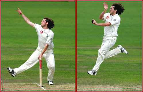 Ryan Sidebottom - England - Test Cricket Record for England.