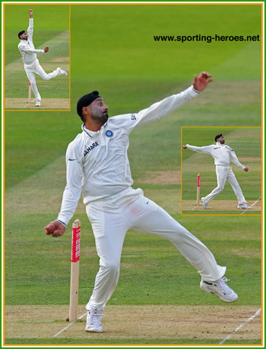 Harbhajan Singh - India - Test Record v South Africa