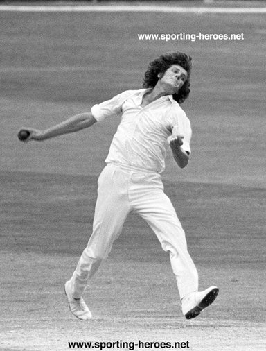 Bob Willis - England - Brief biography of his International cricket career.