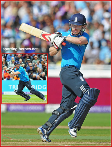 Eoin Morgan - England - Test Record for England.
