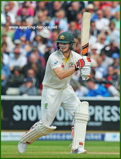 Steve SMITH (Cricket) - Australia - Cricket Test Record for Australia.