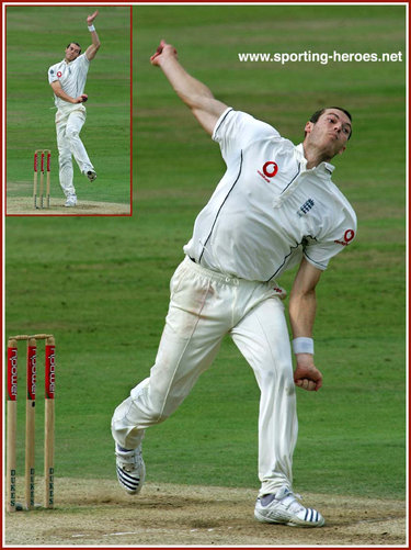 Chris Tremlett - England - Test Record