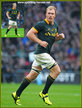Schalk BURGER - South Africa - International Rugby Union Caps for South Africa.