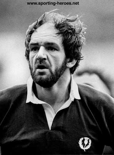 Bill Cuthbertson - Scotland - International Rugby Caps for Scotland.