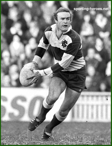 Mike Gibson - Ireland (Rugby) - International rugby union caps for Ireland.
