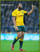 Sekope KEPU - Australia - International rugby union caps.