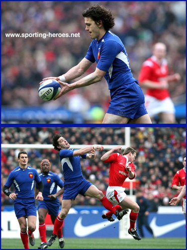 Julien Laharrague - France - International rugby matches for France.