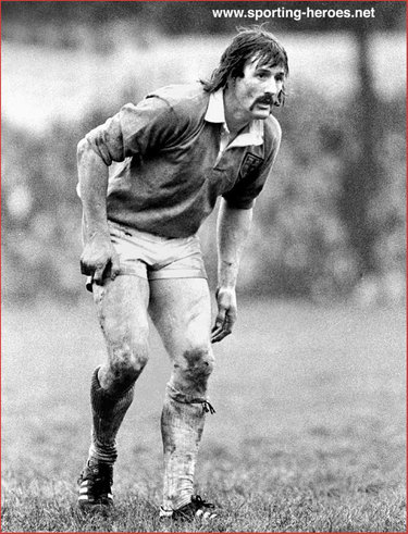 Paul Ringer - Wales - Welsh  Rugby Union Caps 1978-80
