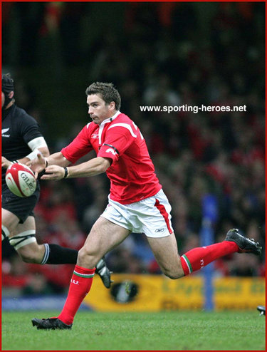 Nicky Robinson - Wales - International rugby caps for Wales.