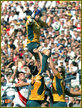 Nathan SHARPE - Australia - 2007  Rugby World Cup.