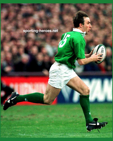 Jim Staples - Ireland (Rugby players N & S) - Irish Caps 1991-97