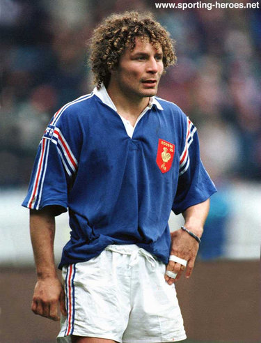 Jean-Francois Tordo - France - International rugby matches.