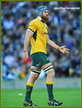James HORWILL - Australia - International rugby union caps.