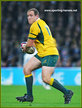 Ben ALEXANDER - Australia - International rugby union caps for Australia.