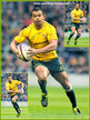 Kurtley BEALE - Australia - International Rugby Union Caps. 2010-2015