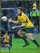 James SLIPPER - Australia - International rugby union caps.