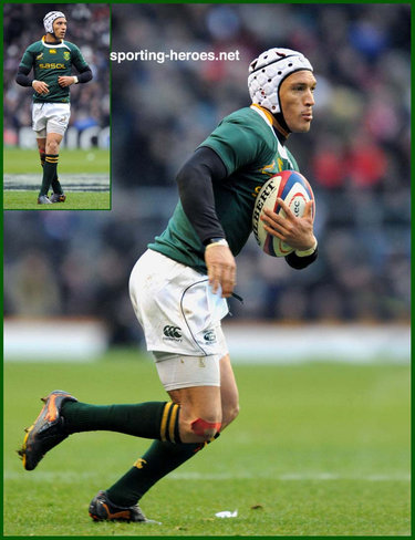Gio Aplon - South Africa - International Rugby Union Caps for South Africa.