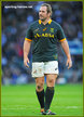 Jannie DU PLESSIS - South Africa - South African International Rugby Caps.
