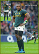 Tendai MTAWARIRA - South Africa - South African International Rugby Caps.
