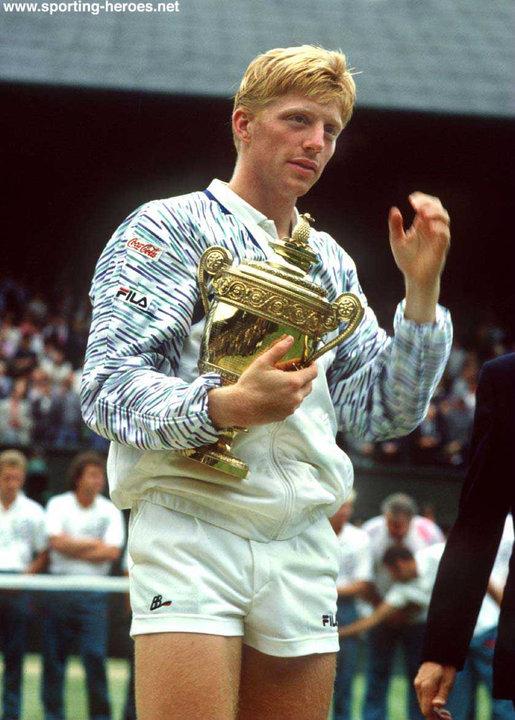 Boris Becker 1989 Wimbledon Winner Amp U S Open
