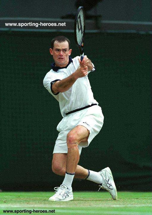 Byron Black - Wimbledon 2000 (Quarter-Finalist) - Zimbabwe