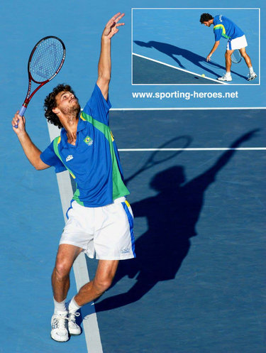 Gustavo Kuerten - Brazil - French Open 2004 (Quarter-Final)