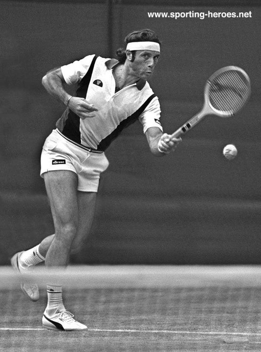 guillermo vilas grand slam victories in the 1970s and