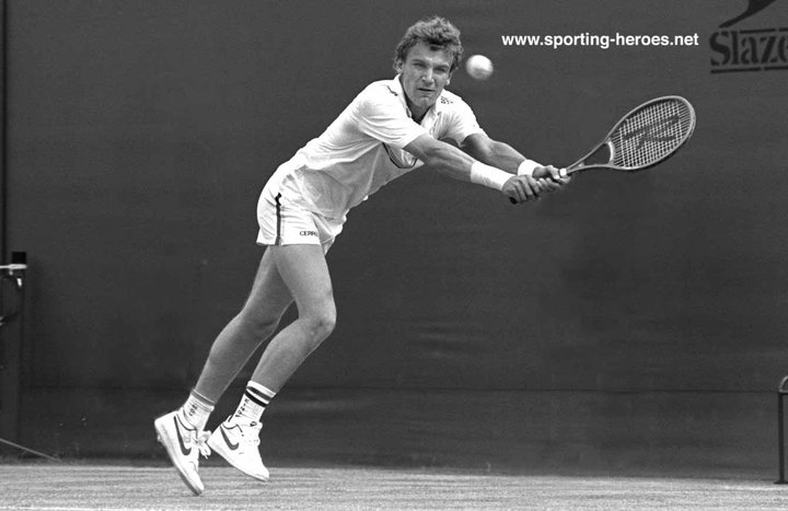 Mats Wilander Australian Open 1984 Winner Sweden