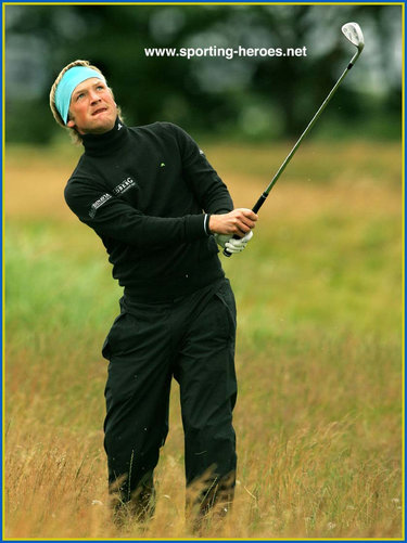Pelle Edberg - Sweden - 2007 Open Golf  Championship equal 12th.