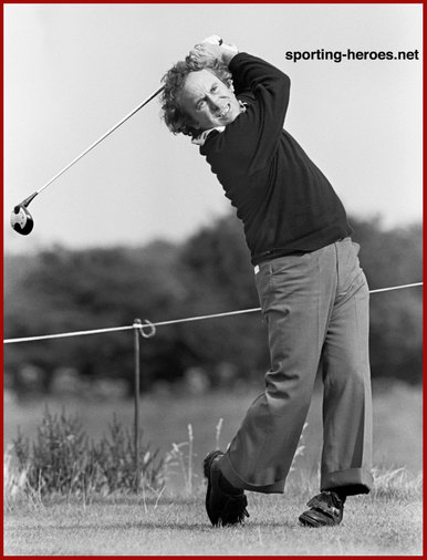 Brian Huggett - Wales - 1973 Ryder Cup & Open Championships top 20 finishes.