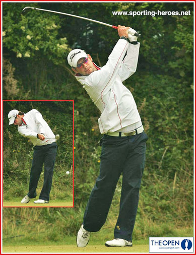 Paul Waring - England - 2008 Open Golf Championship (19th=)