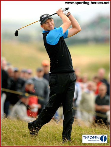 Soren HANSEN - Denmark - 2009. US Open (6th=). Open (8th=)