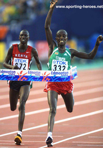 Gezahegne Abera - Ethiopia - 2000 Olympic & 2001 World Marathon Champion (result)