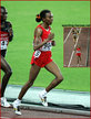 Elvan ABEYLEGESSE - Turkey - 2007 World Championships 10,000m disqualification.
