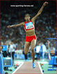 Yamile ALDAMA - Sudan - 4th. in the Triple Jump at 2004 Olympic Games.