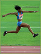 Yamile ALDAMA - Sudan - 4th. in the Triple Jump at the 2005 World Championships.
